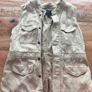 Sanctuary Khaki Army Vest